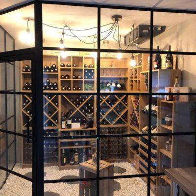 verrière cave à vin ec design