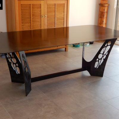 table métal sur mesure