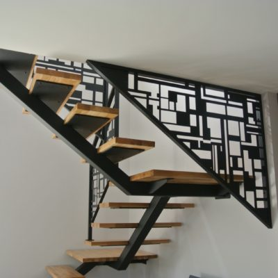 Escalier design fabricant escaliers Loir-et-Cher Vendôme