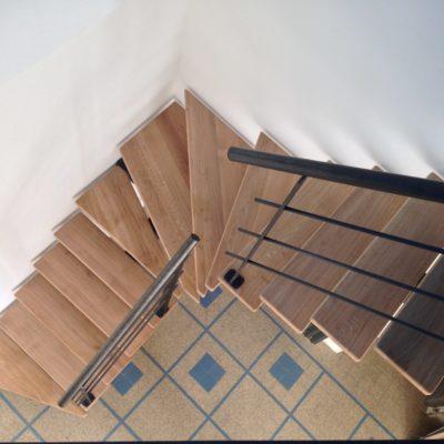 Fabricant d'escalier petite trémie bois métal Vendôme Loir et Cher