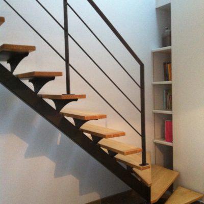 escalier-mylea escalier un quart tournant gauche gamme standard ec design vendome fabricant d'escaliers