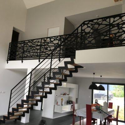 conception escaliers design Loir-et-Cher Vendôme Tours Blois EC DESIGN