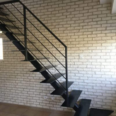 Fabricant d'escalier style indus Loir-et-Cher Vendôme