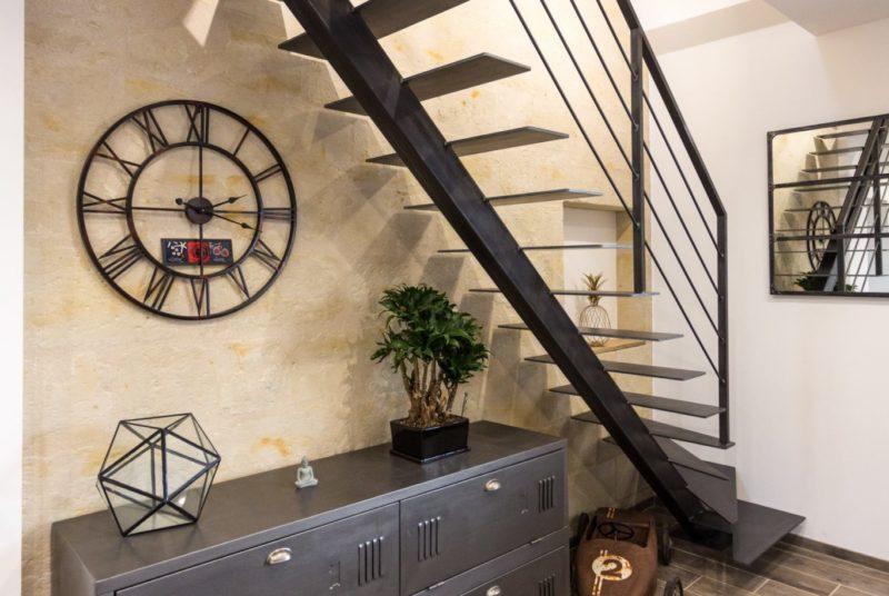 Fabricant escaliers métal industriel limon central Vendôme Loir et Cher