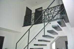 Escalier bois métal Créateur d'escaliers - EC Design Vendôme
