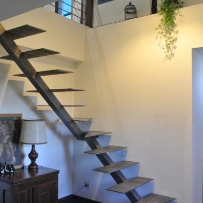 escalier métal loft fabricant escaliers Loir-et-Cher Vendôme