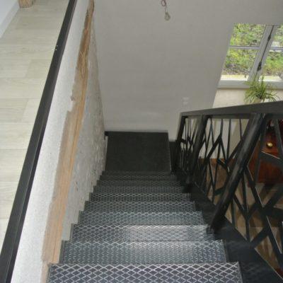 Escalier marche tole larmée EC Design fabricant d'escalier à Vendôme Loir-et-Cher