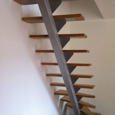 Escalier design EC Design fabricant d'escaliers Design Loir-et-Cher