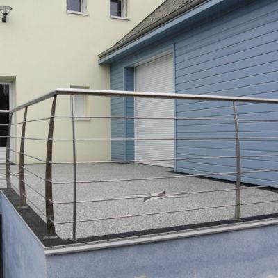 garde corps vendome inox fabricant d'escalier Loir-et-Cher Vendôme