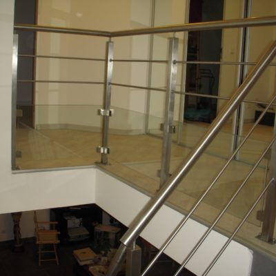 Fabrication garde-corps en inox à Vendôme - Loir et Cher - EC Design artisan escaliers