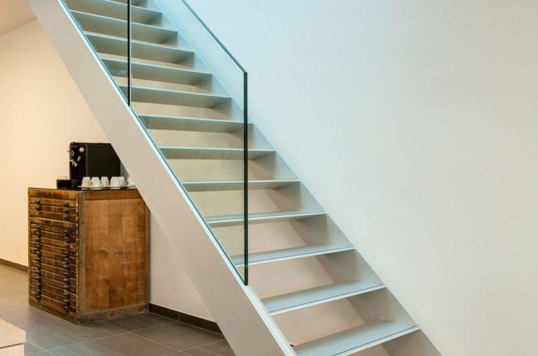 escalier garde corps verre graah fabricant d'escalier Loir-et-Cher Vendôme