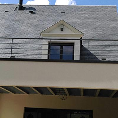 garde corps toit terrasse