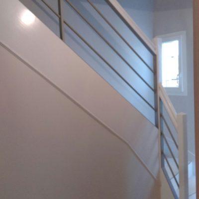 rénovation d'un escalier en bois