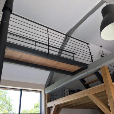 fabricant escaliers Loir-et-Cher Vendôme conception d'une passerelle