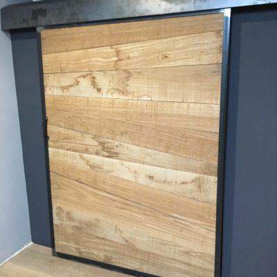 porte placard bois métal sur mesure EC Design Vendôme Loir-et-Cher